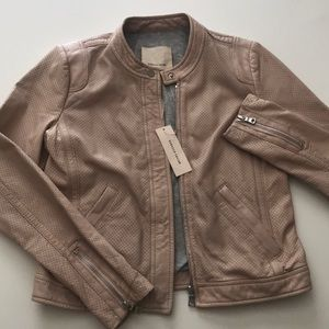 NEW Rebecca Taylor leather jacket
